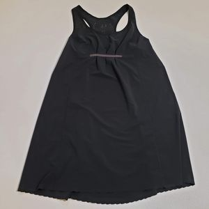 Lululemon Run In The Sun Dress Laser Cut Black